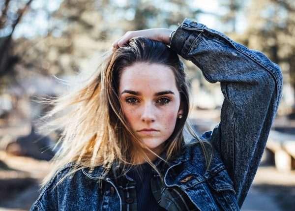 depressed struggling teen